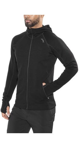 Lundhags Merino sweater zwart